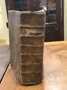 Early Printing Berleberg Bible Old Testament Psalms 1730 Leather Rare