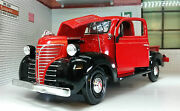 G Lgb 124 Scale Red 1941 Plymouth Lorry Pickup Truck Diecast Model Railway