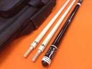 Longoni Carom Cue Armonia With S30 Shafts And Top Notch Leather Case.