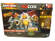 Angry Birds Star Wars Telepods Death Star Trench Run Playset- Damaged Box