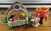 2003 Fisher-price Little People Night At The Ball Lot Princess Carriage