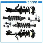 8pc Front Rear Complete Struts And Sway Bar Links Fits 2002-2006 Honda Crv Cr-v