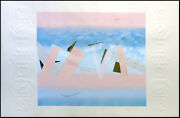 Micheal Hudson Momenta Monotype Art Collograph Hand Signed Make An Offer
