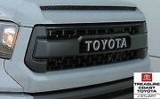 New Oem Toyota Tundra 2014-2017 Trd Pro Grille And Hood Bulge Cement Gray 1h5