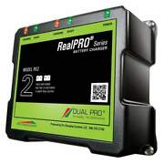 Dual Pro Realpro Series 12a 2-bank Battery Charger Rs2