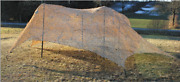 Us Army Camouflage Camo Netting Desert W/support System Type Iv Set