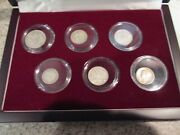 The Great War Box 6 Silver Coin Set From The First World War Wwi