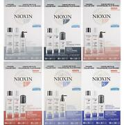Nioxin System Starter Kit [choose From 1 2 3 4 5 6] Brand New And Authentic