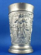 Rare Antique/vintage Bmf Pewter C.koch Gmbh Germany Small Nip Shot Toasting Cup
