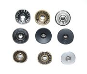 Hammer On Metal Jeans Buttons Backs - Various Styles And Qtys - Tool Needed