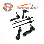 Steering Linkage Tie Rod End Pitman 3 Grooves Idler Arm For Chevy Express 2500