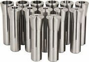 Lyndex 13 Piece 1/8 To 7/8 Capacity R8 Collet Set Increments Of 1/16