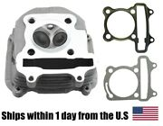 Cylinder Head Assembly With Valve For Gy6 150cc 157qmj Scooter Atv Gokart Taotao