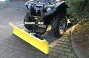 Atv Quad Snow Plough Ploughs Plow Dedicated Front Mounting Grizzly 550 700 -2015