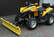 Atv Quad Snow Plough Ploughs Plow Dedicated Front Mounting Can Am Renegade 800