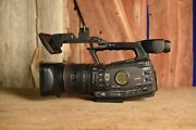 Canon Xf300 Professional Hd Video Camera Extra Battery Charger Easy To Use