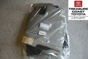 New Oem Toyota Sienna 04-10 Tan Taupe Floor Mats And Clips 8 Passenger Models