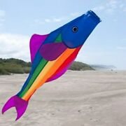 Rainbow Trout Fish Windsock 48 Long Yard + Boat Or Vegetable Garden For X-bird