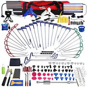 178andtimes Car Body Pdr Rods Paintless Dent Hail Repair Tools Dent Puller Removal Kit