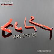 Silicone Radiator Heater Hose And Clamps Kit Fit For Jeep Wrangler Tj 4.0l 97-01