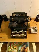 1926 Lc Smith And Bros No.8 Typewriter