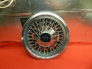 1 Used 74 75 76 Ford Thunderbird 15 Wire Wheelcover D5sz-1130-n