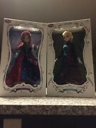 Disney Store Anna And Elsa Princess Snow Gear Limited Edition Of 5000 17 Doll