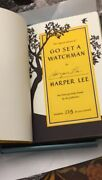 Go Set A Watchman Signed Book Limited Edition Collectors Box Numbered Harper Lee