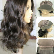 8-22 Woman Loose Body Wave 100 India Remy Human Hair Full Lace/lace Front Wig