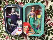 Disney Princess Signature Collection Ariel The Little Mermaid Doll And Ursula
