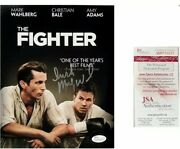 The Fighter Movie Flyer 8x10 Signed By Mickey Ward With Coa Sports Memorabilia