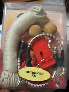 Tigress Econo Outrigger Kit 88600 White Nylon, Ring Snubbers, Releases And Stops