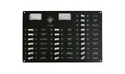Ac/dc Power Distribution Panel W/analog Dc Voltmeter Ready To Install