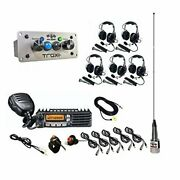 Pci 2580+2593+2540+2547 Trax Intercom System Trax Ultimate Package 5 Seat With