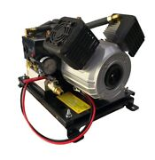 Two Star 24v Dc Professional Onboard Oil Free Twin Piston Air Compressor