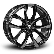 Tesla Model S 20andrdquo Tss Flow Forged Wheel In Gloss Black By T Sportline -staggered