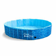 All For Paws Chill Out Splash And Fun Dog Swimming Pool Large 160 X 160 X 30cm