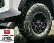 New Oem Toyota Tacoma 95-2021 Trd Glossy Black 16and039and039 Trd Pro Wheels Set Of 4