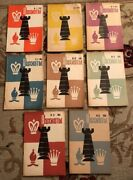 Very Rare Lot 8 Vintage 1968 Waxmatbi Chess Russian Books Magazines Collectibles