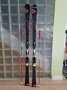 Fischer Downhill Snow Skis Curv 2017, Great For Carving And Racing, With Binding