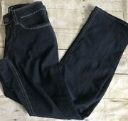 Womens Hydraulic Size 4 Stretch Denim Jeans Euc