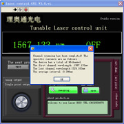 Tunable Laser Ttx1994 Itla Tl5000 Test Equipment Software Hardware Rs232