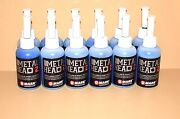 12 Metal Head Paint Markers 2 Oz Blue Auto Salvage Industrial Junk Yard Crafts