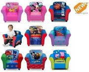 Kids Couch Chair Armchair Lounger Upholstered Furniture Children Toddler Room