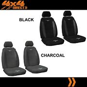 1 Row Custom Rm Williams Suede Seat Covers For Land Rover Defender 01-02