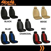 Single Row Custom Leather Look Seat Cover For Suzuki Ignis 16-on Glx 4dr Hatch