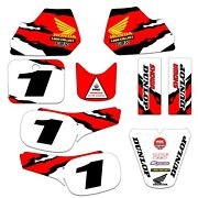 Honda Qr50 Qr 50 Graphics Kit Decal Deco Message Us The Number You Want Printed