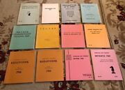 Vintage Lot 11 The Chess Player Series Game Tournament Play Score Cards Books
