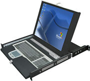 [connectpro] Sl2-18a - Lcd Console With 8-port Combo Usb+ps/2 Kvm Switch New