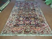 5and039 X 9and039 Antique Hand Made Turkish Wool Veg Dyes Rug Nice 107